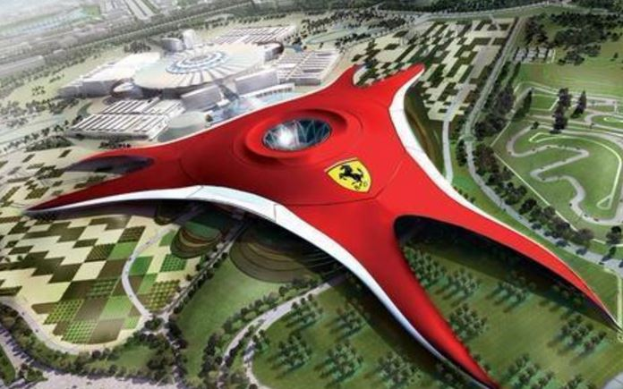 Contact Of Ferrari World Abu Dhabi Phone Address