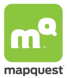 Contact of MapQuest customer service on yahoo! maps, bing maps, google maps,